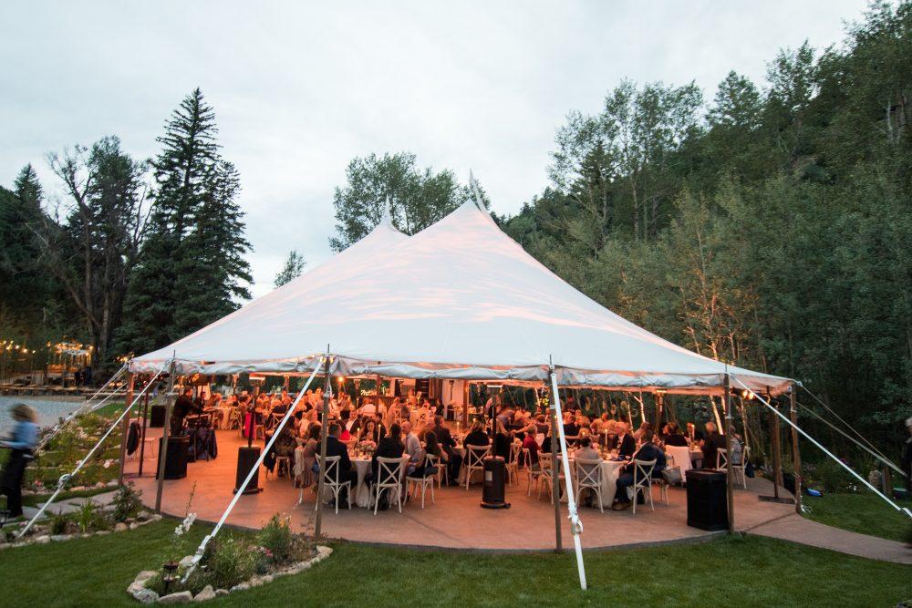 colorado reception location venue tent