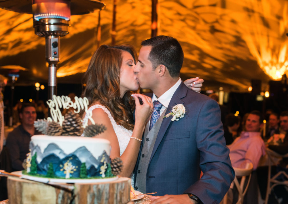 colorado wedding reception