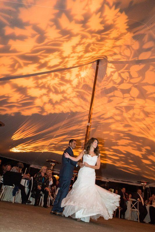 colorado wedding reception first dance