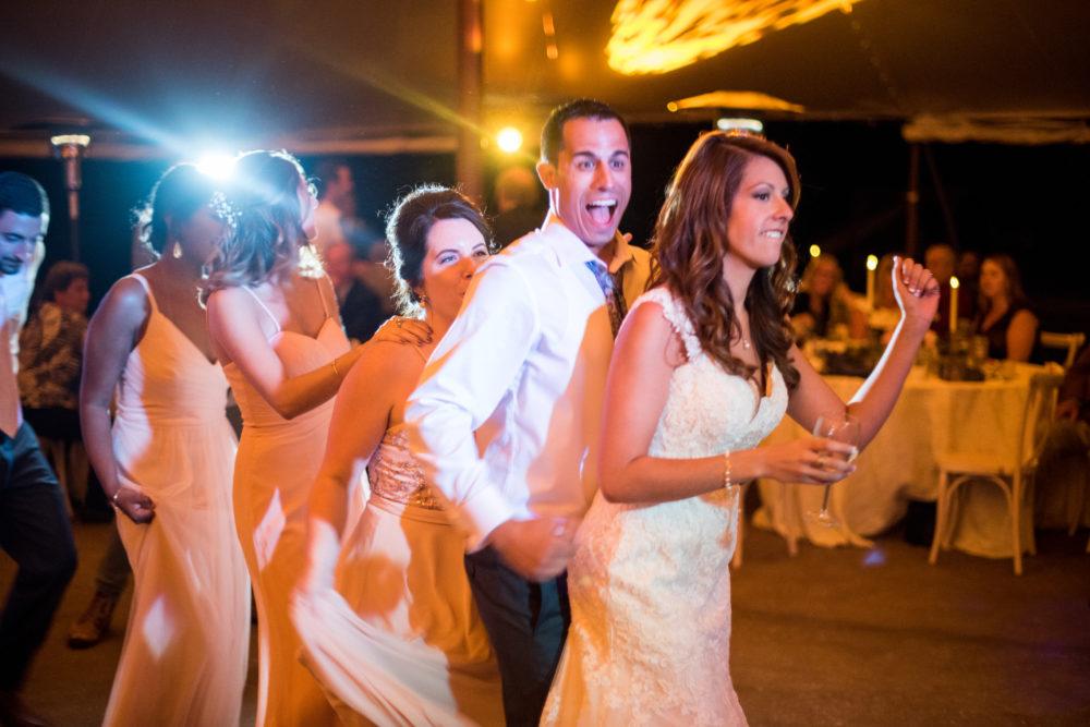 colorado wedding reception party