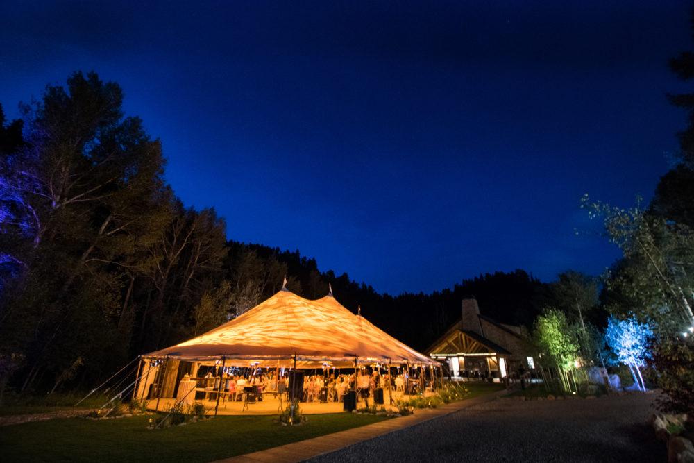 colorado wedding reception location venue mountains