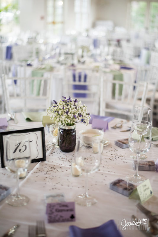colorado wedding decor