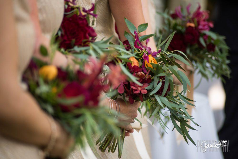 olive & poppy wedding bouquet