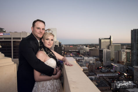 downtown urban wedding
