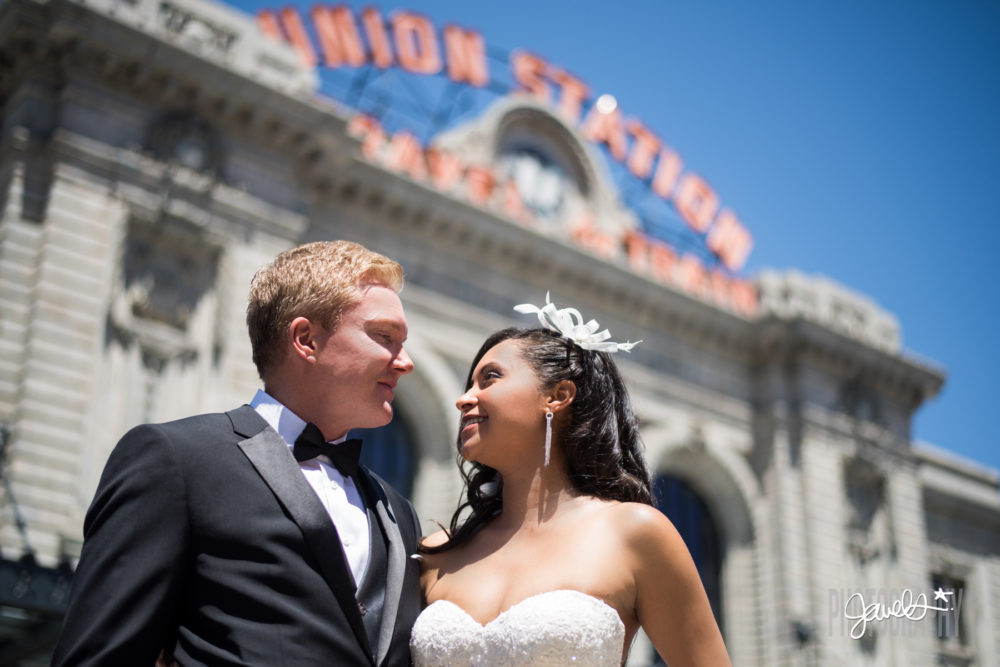 union station crawford hotel wedding