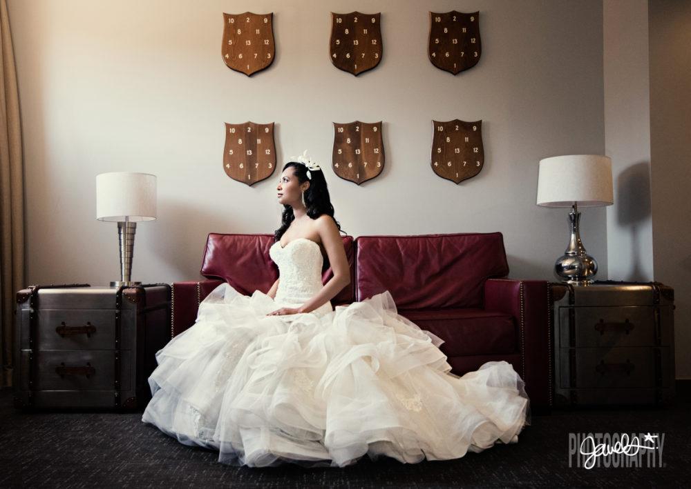 crawford hotel wedding bride
