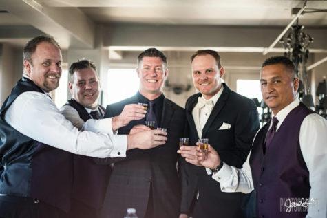 denver groomsmen wedding venue