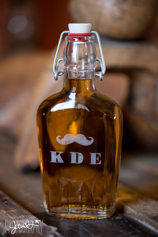 prohibition flask groovy groomsmen gifts