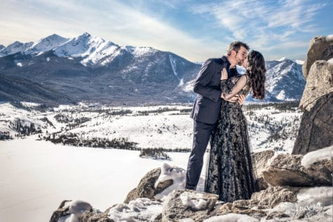 sapphire point engagement rocky mountain wedding