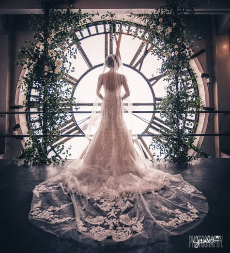 amazing downtown denver wedding clocktower