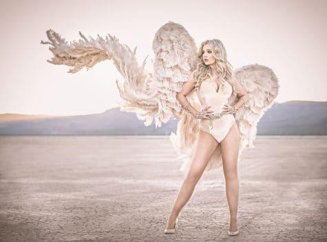 beautiful angel portrait in las vegas nevada